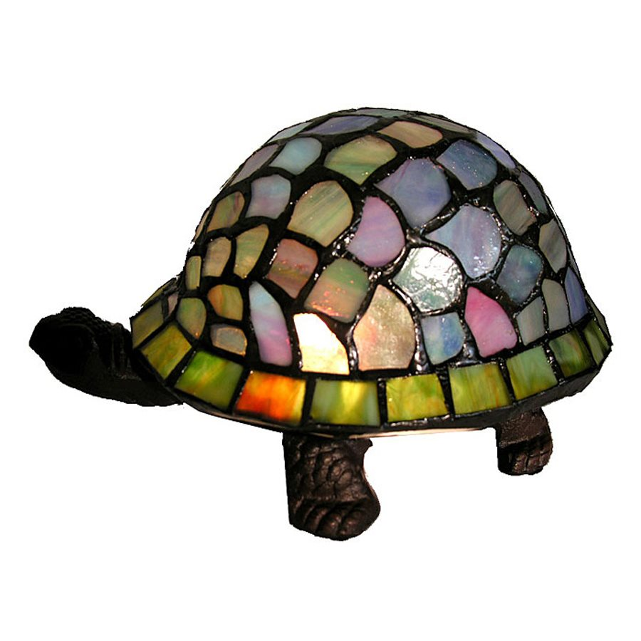 Famous Brand-Style Turtle Accent Lamp