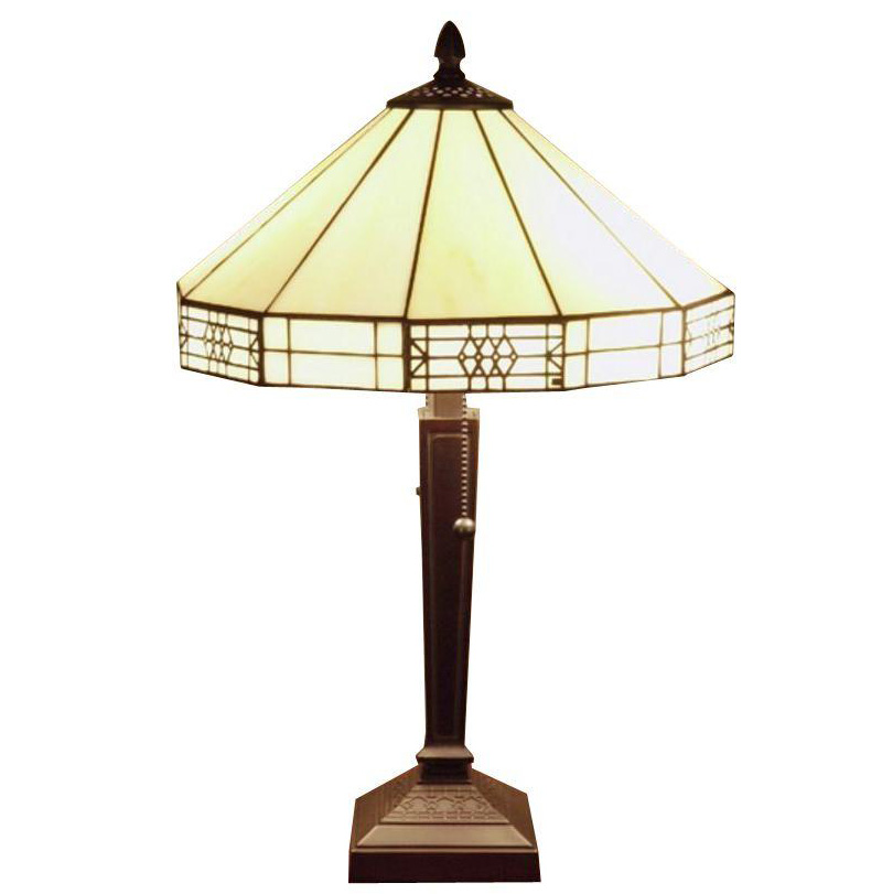 Famous Brand-Style Mission Table Lamp