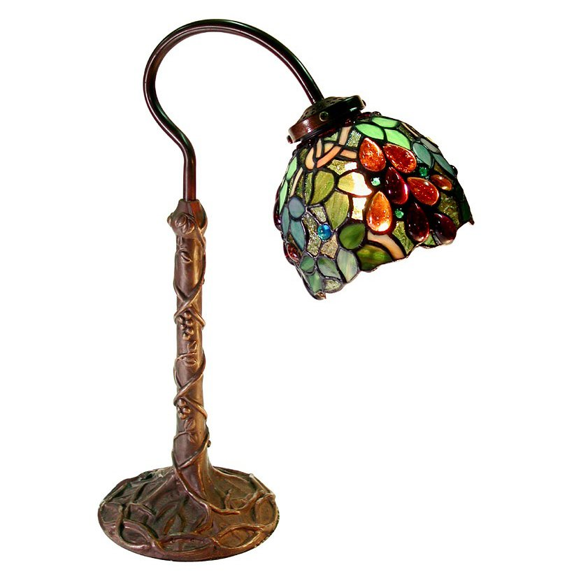 Famous Brand-Style Grape Desk Lamp