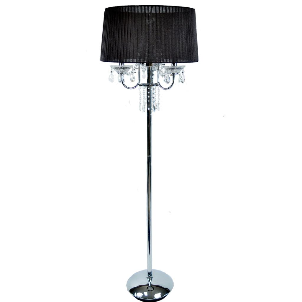 Thalia Crystal Floor Lamp