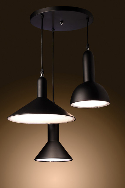 3 - Light Suspension by Warehouse of Tiffany