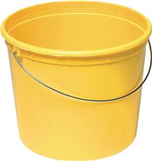 PROMOTIONAL PLASTIC BUCKET, 5 QT.