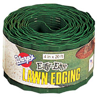 Wrap Brothers LE420G Lawn Edging Border, 4 in H X 20 in L, Green