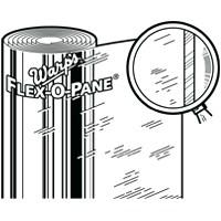 Flex-O-Pane 10FP-3625 Original Window Film, 10 mil T x 36 in W x 25 yd Roll L, Clear, Plastic
