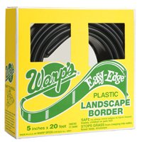 Easy Edge LBS-520-B Landscape Border, 5 in H X 20 ft L, Polyethylene, Black