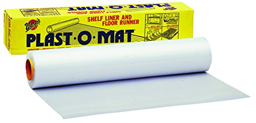 100 FEET CLEAR PLAST-O-MAT RIBBED FLOOR RUNNER