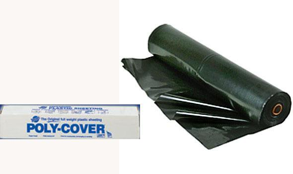 20 Feet X100 Feet 6 Millimeter Black Poly