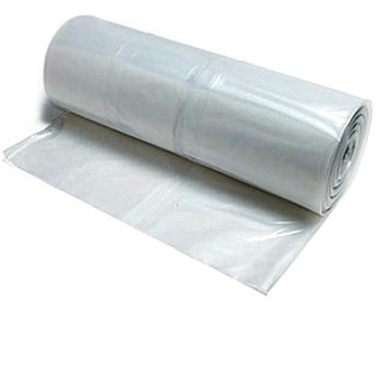 "10"" x25 FEET CLEAR CARRY-HOME COVERALL PLASTIC SHEETING"