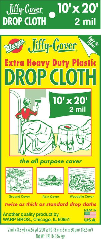 2JC1020 10X20 2M DROP CLOTH