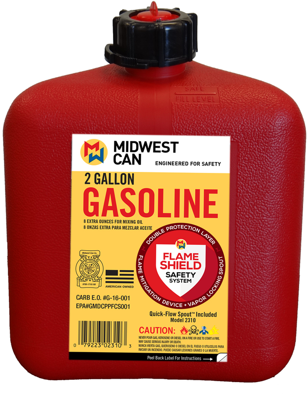 2310 2 GALLON GAS CAN