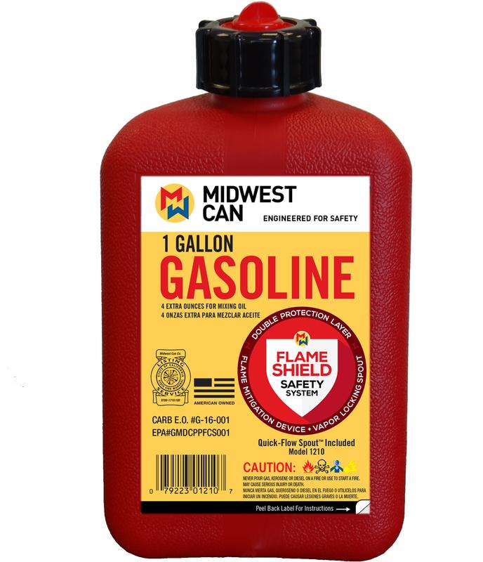 1210 1 GALLON GAS CAN