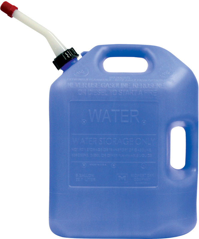 06700 6G BLUE WATER CAN