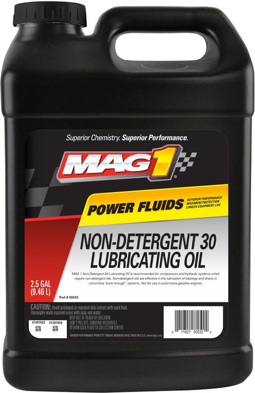 00232 2.5G 30W NON-DTRGENT OIL