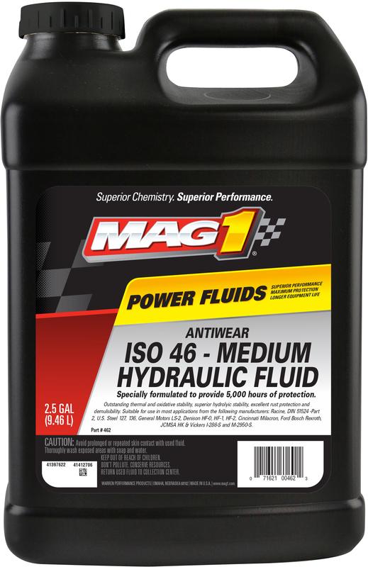 00462 2.5G AW ISO46 HYDRLC OIL