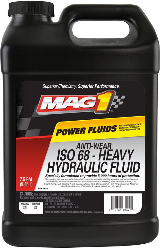 00682 2.5G AW ISO68 HYDRLC OIL