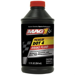 00126 12OZ DOT 4 BRAKE FLUID