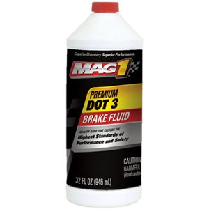 00120 QT DOT 3 BRAKE FLUID