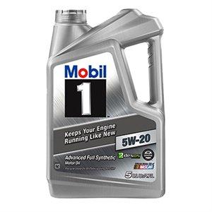 112798 5QT 5W20 MOBIL1 FSN OIL