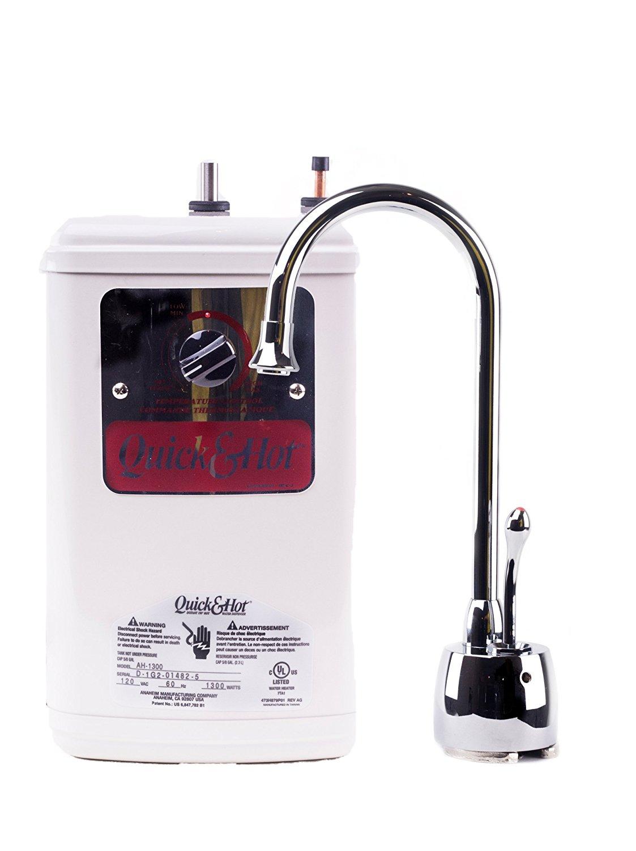 Quick & Hot Water Dispencer, Coronado Tank/Faucet