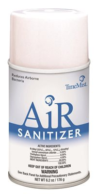 TIME MIST AIR SANITIZER, LIME, 30 DAY REFILL, 6.2 OZ.