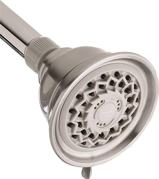 Water Pik VAT-319T Showerheads, Br. Nickel