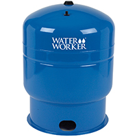 Water Worker HT-44B Vertical Pre-charged Well Tank, 44 gal, 1-1/4 in FNPT, 100 psi, Steel