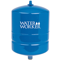 Water Worker HT-4B Vertical Pre-charged Well Tank, 4 gal, 3/4 in MNPT, 100 psi, Steel