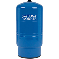Water Worker HT-20B Vertical Pre-charged Well Tank, 20 gal, 1 in FNPT, 100 psi, Steel
