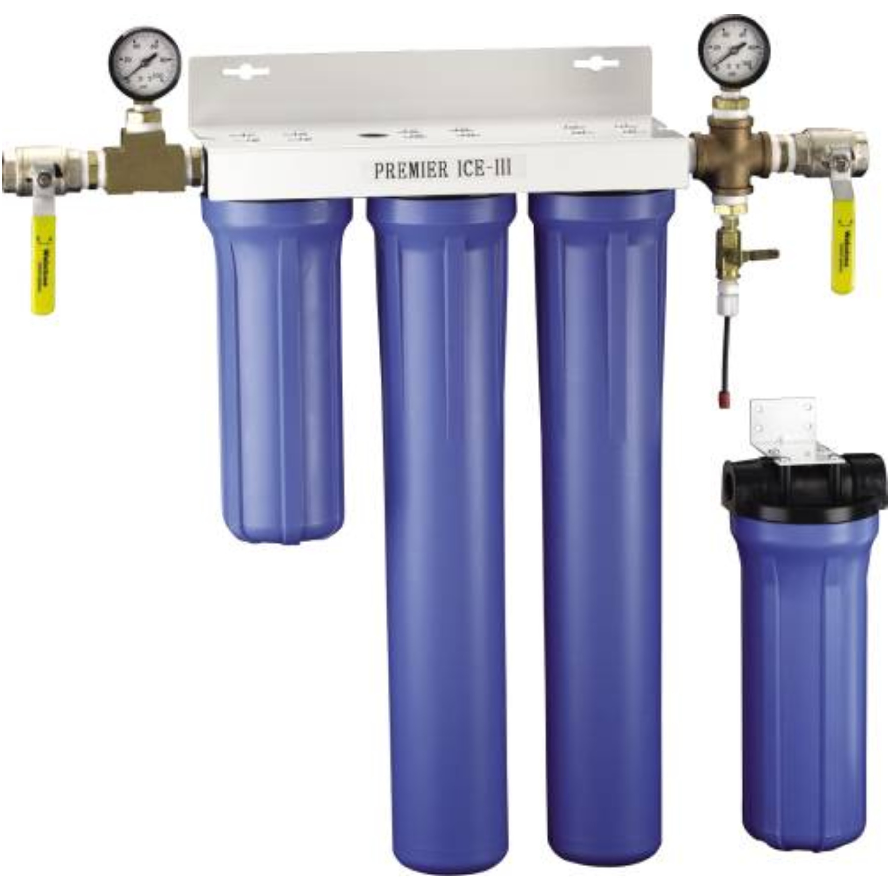 COMMERCIAL STEAM AND ICE FILTRATION SYSTEM