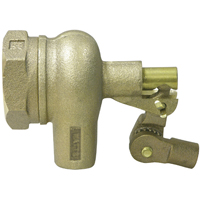 Watts ST1250 Flippen Standard Duty Float Valve, 1-1/4 in Inlet, 2 in Outlet, FNPT, Bronze