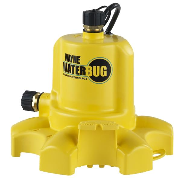 PUMP UTILITY SUBMERSIBLE 1/6HP