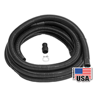 Wayne 66000-WYN1 Sump Discharge Hose Kit, 1-1/2 in X 24 ft Hose