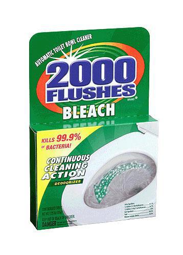 290071 1.2Oz 2000 FLUSHES TABS