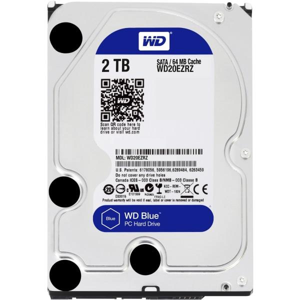 """2TB SATA 64MB 3.5"""" HD Blue"""