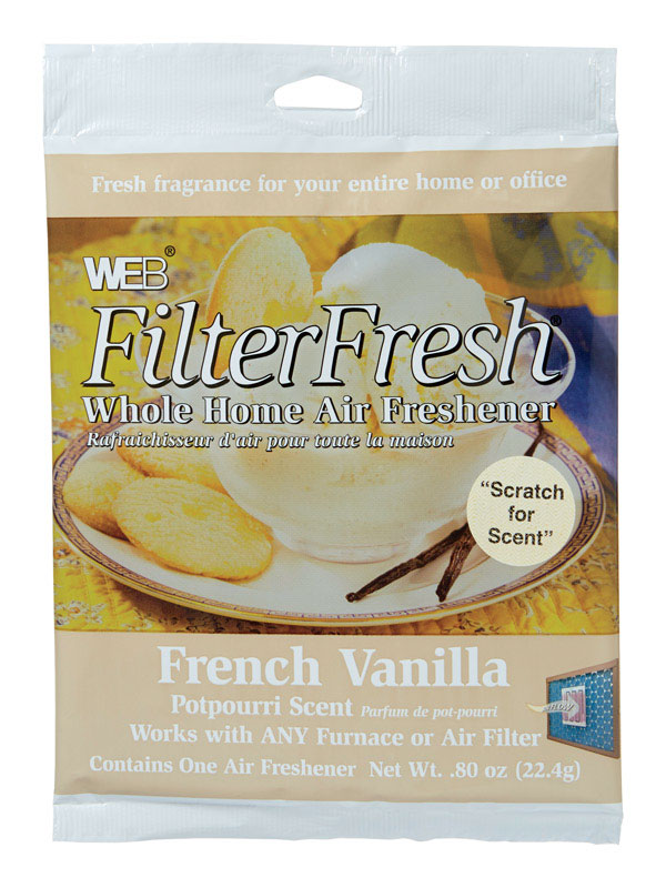 WEB� AIR FILTER FRESHENER, VANILLA