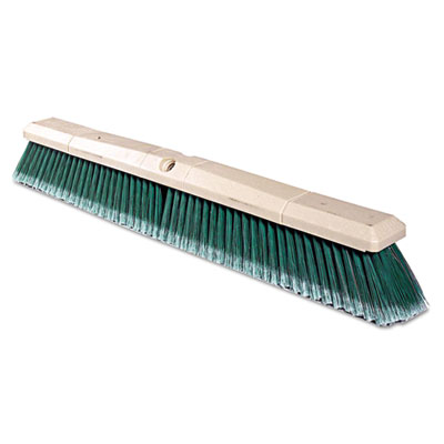 Green Polystyrene Fine-Grade Perma-Sweep Floor Brush, 24""