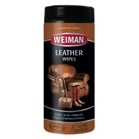 WIPES CLEANING LEATHER