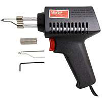Weller 7200PKS Lightweight Corded Soldering Gun Kit With 2-Wire Corded, 120 V, 75 W