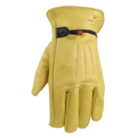 GLOVES WORK COWHIDE LEATHER SM