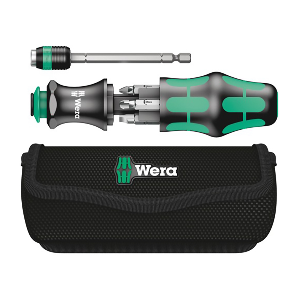 Wera KK 26 7-In-1 Bitholding Screwdriver with Removable Bayonet Blade