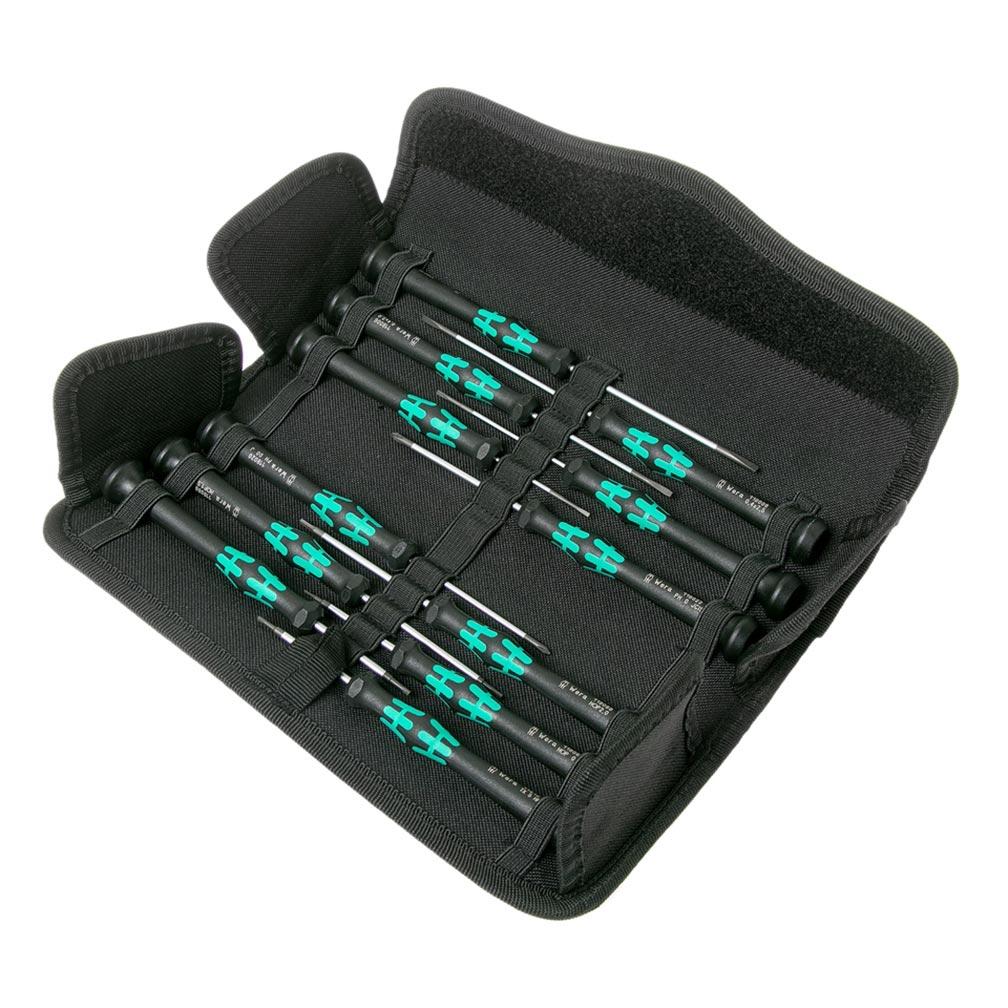 Wera Kraftform Micro Pack Screwdriver for Electronic Applications 12 Piece Set