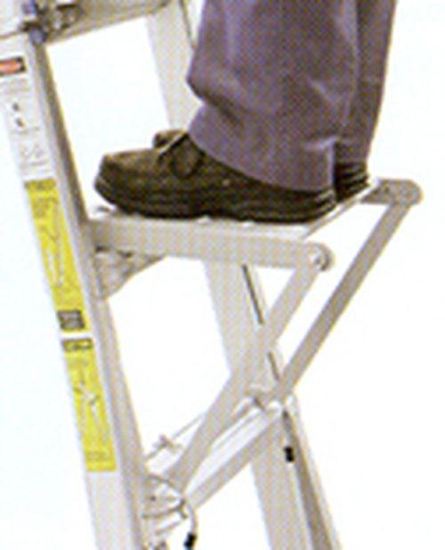 AC18MT STEEL LADDER PLATFORM