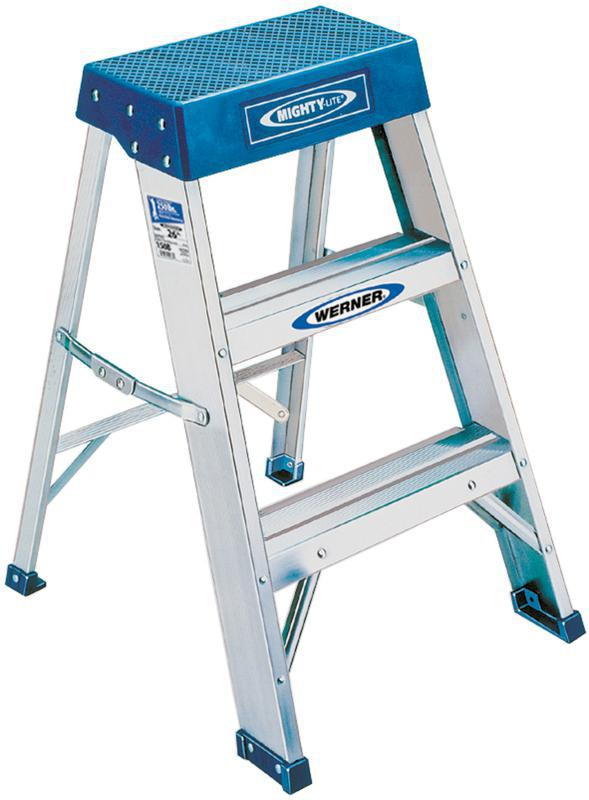 2 ft Type IA Aluminum Step Stool, 300 lbs Capacity