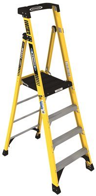 WERNER� TYPE IAA ALUMINUM PODIUM LADDER, 4 FT.
