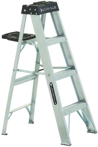 WERNER� TYPE IA ALUMINUM STEP LADDER, 4'