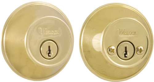 WESLOCKSET DOUBLE CYLINDER DEADLOCK