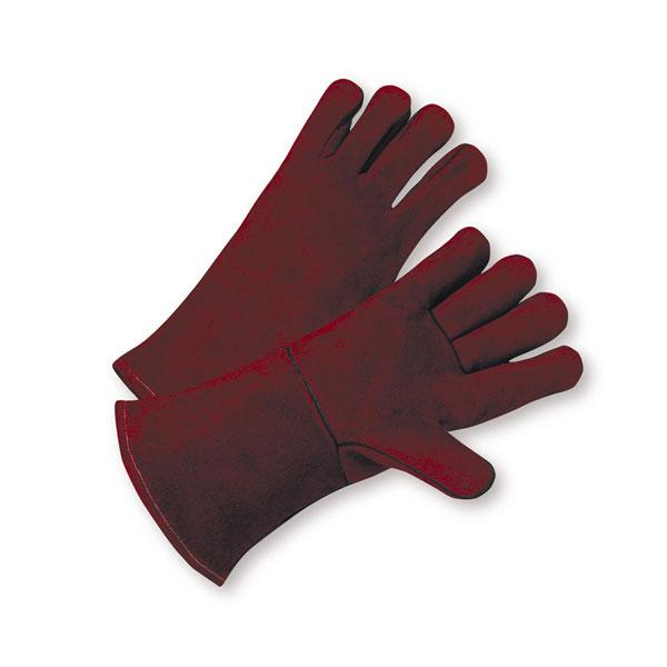 940R - Heavy Duty Cowhide Gloves, Russet