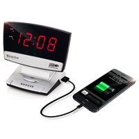 CLOCK ALARM LED PLASMA W/USB