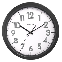 CLOCK WALL COMMERCIAL RND 14IN