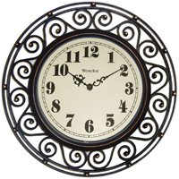 "Westclox 32032 12"" Round Live Love Laugh Message Clock"